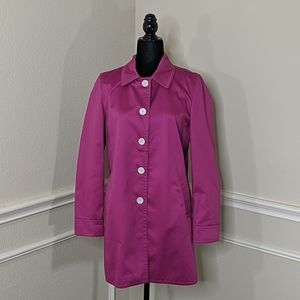 Coach Pink Trench Coat